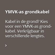 YMVK-as grondkabel; Kabel in de grond? Kies voor een YMVK-as grondkabel. Verkrijgbaar in verschillende lengtes