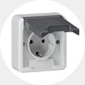 Gira Waterdicht opbouw stopcontact
