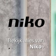 Bekijk al het Niko schakelmateriaal