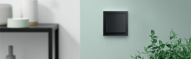 Busch-Jaeger Future Linear zwart mat