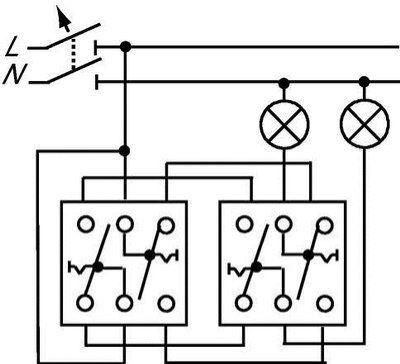 Wissel/wissel schakelaar