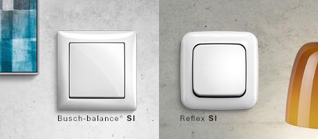 Busch Jaeger Balance & Reflex SI schakelmateriaal