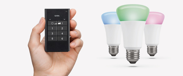 Gira ZigBee Light Link draadloze handzender