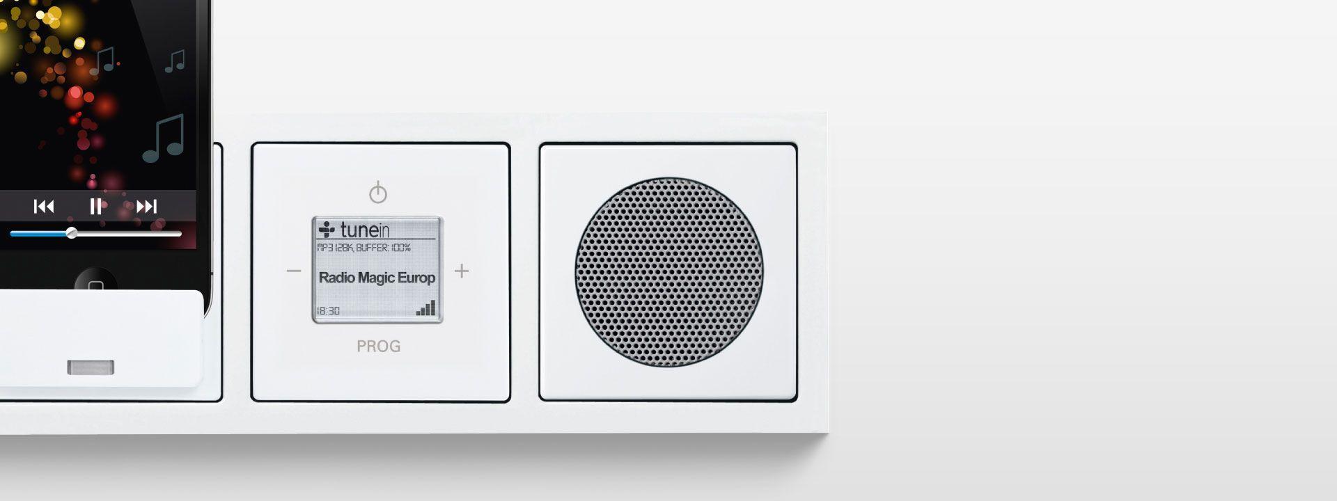 Geen Leven Zonder Muziek Met De Busch Radio Inet Inbouwradio Elektrototaalmarkt Nl Blog